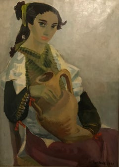 Femme à la cruche - Woman with the pitcher