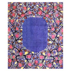 Edouard Benedictus French Art Deco Rug. Size: 10 ft 10 in x 13 ft 2 in