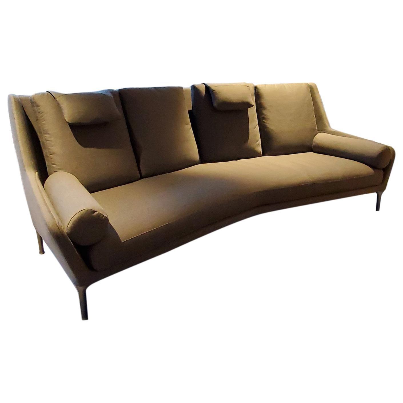 Édouard Fabric Sofa, by Antonio Citterio from B&B Italia