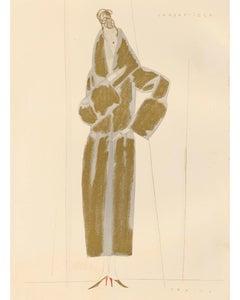 """""""Condottiere: Gold Fashion Illustration"""