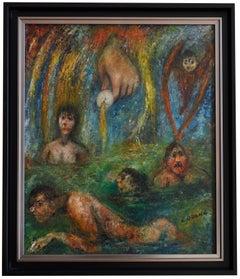 Edouard Goerg, Always Life Begins Again, Oil on Canvas, 1958