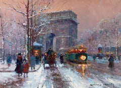 L'Arc de Triomphe, Winter