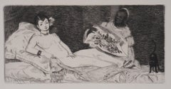 Olympia - Origninal Etching - 1902