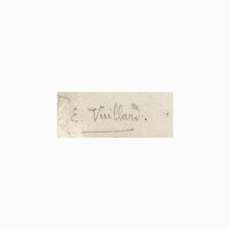 Croquis (Les Tuileries) - Impressionist Print by Edouard Vuillard