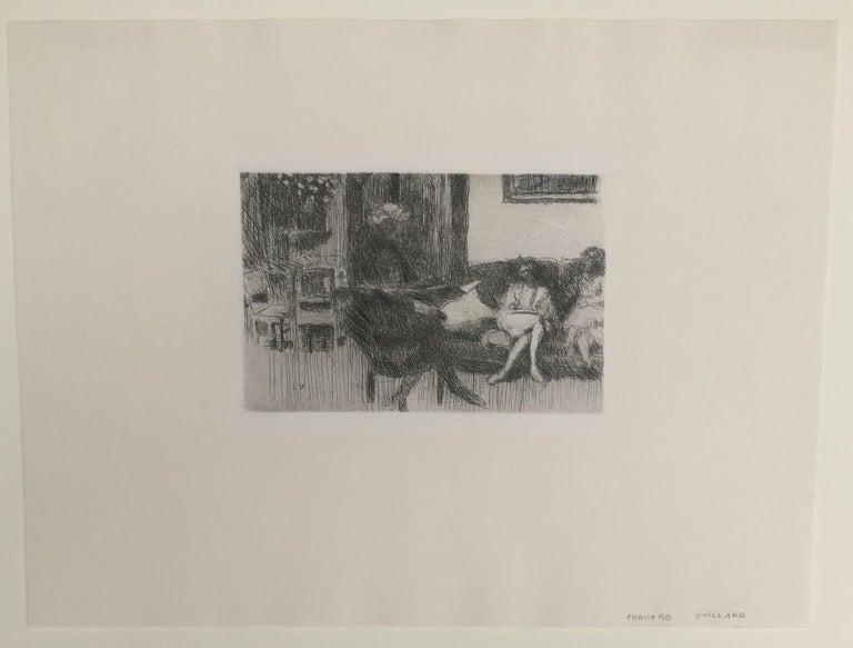 Interieur au Canope - Print by Edouard Vuillard