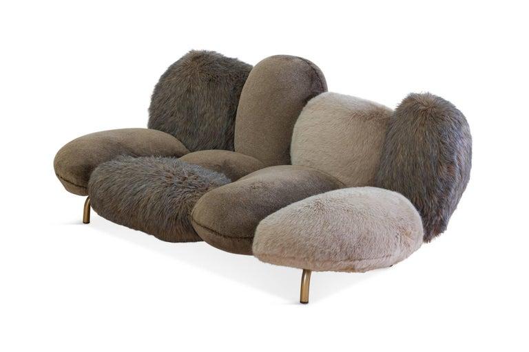 Edra Cipria Sofa By Fernando And Humberto Campana For Sale