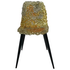 Edra Gina Chair in Gold or Topaz
