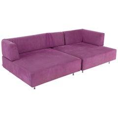 Edra L'Homme et la Femme Modular Sofa by Francesco Binfaré