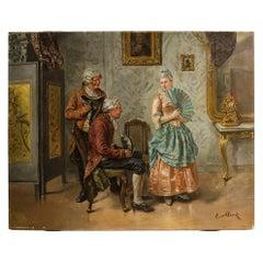 Eduard Merk 'German, 1816-1888' Ladies Charm
