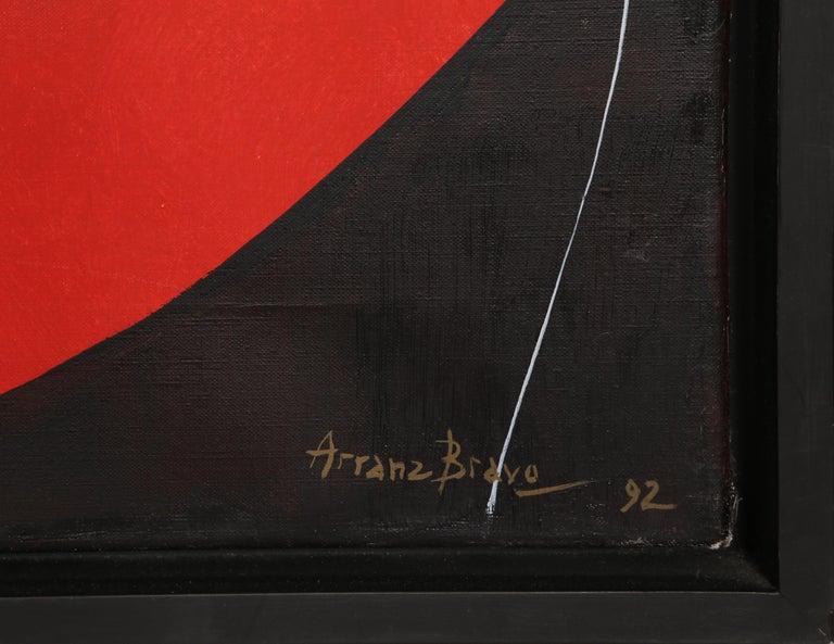 Estigma de Pintor, IV - Painting by Eduardo Arranz-Bravo