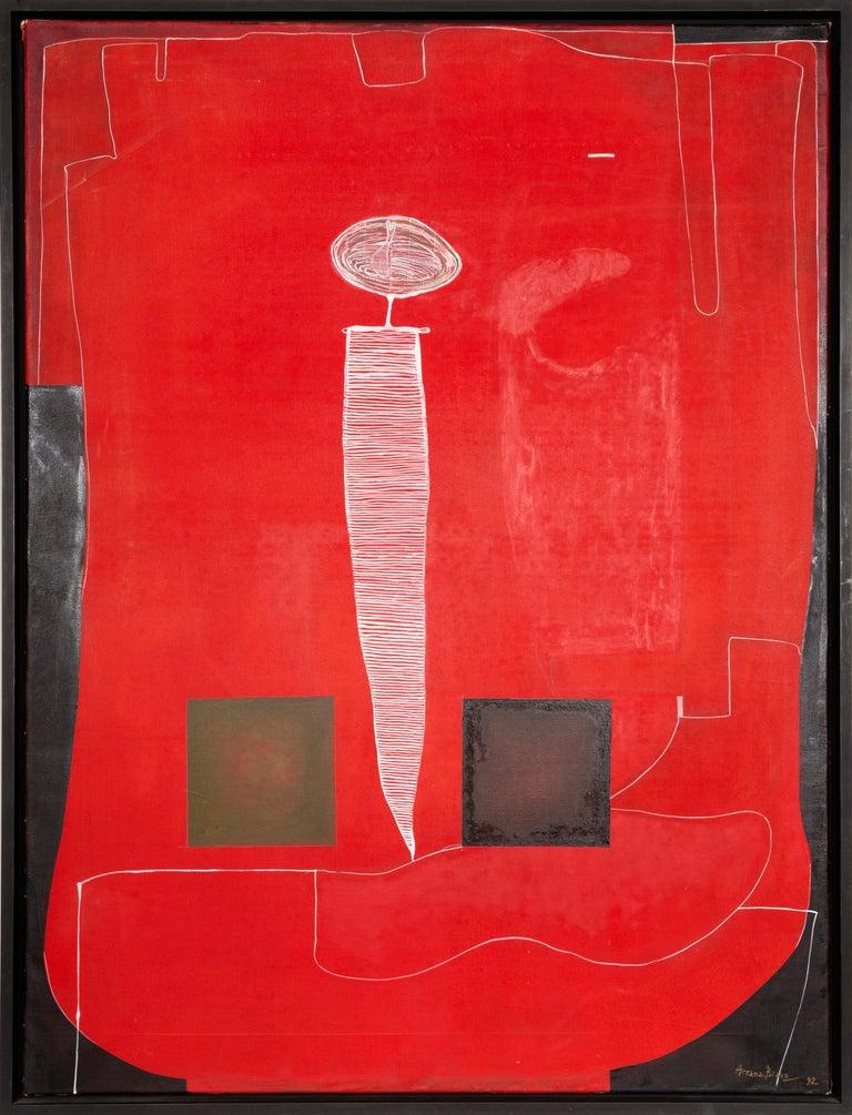Eduardo Arranz-Bravo Abstract Painting - Estigma de Pintor, IV