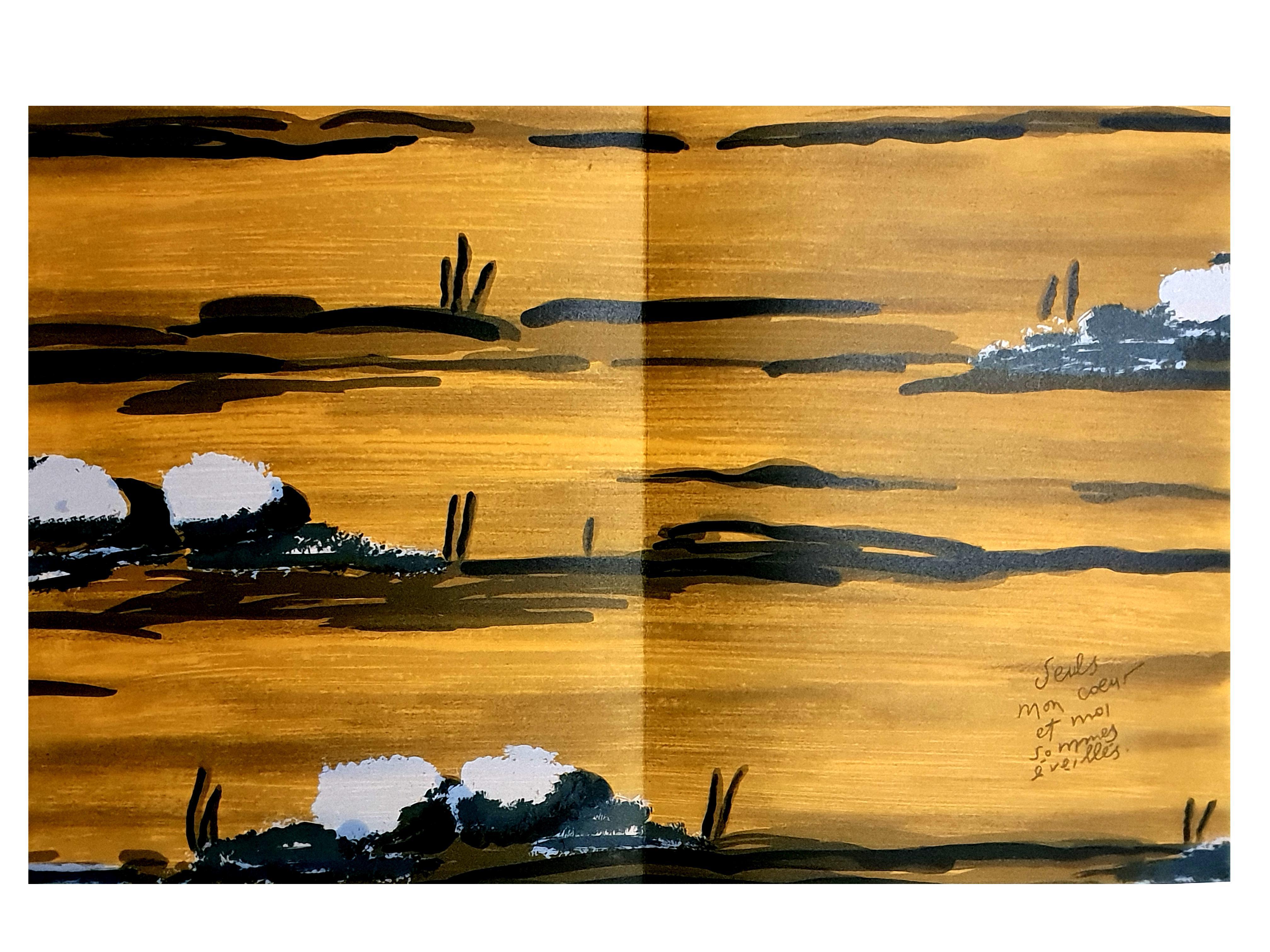 Eduardo Arroyo - Awaken Heart - Original Lithograph