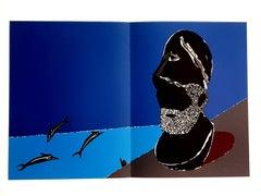 Eduardo Arroyo - Greek Homage - Original Lithograph