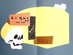 Eduardo Arroyo - Homage to Braque - Original Lithograph