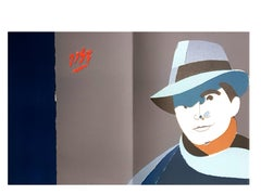 Eduardo Arroyo - Jean Moulin - Original Lithograph