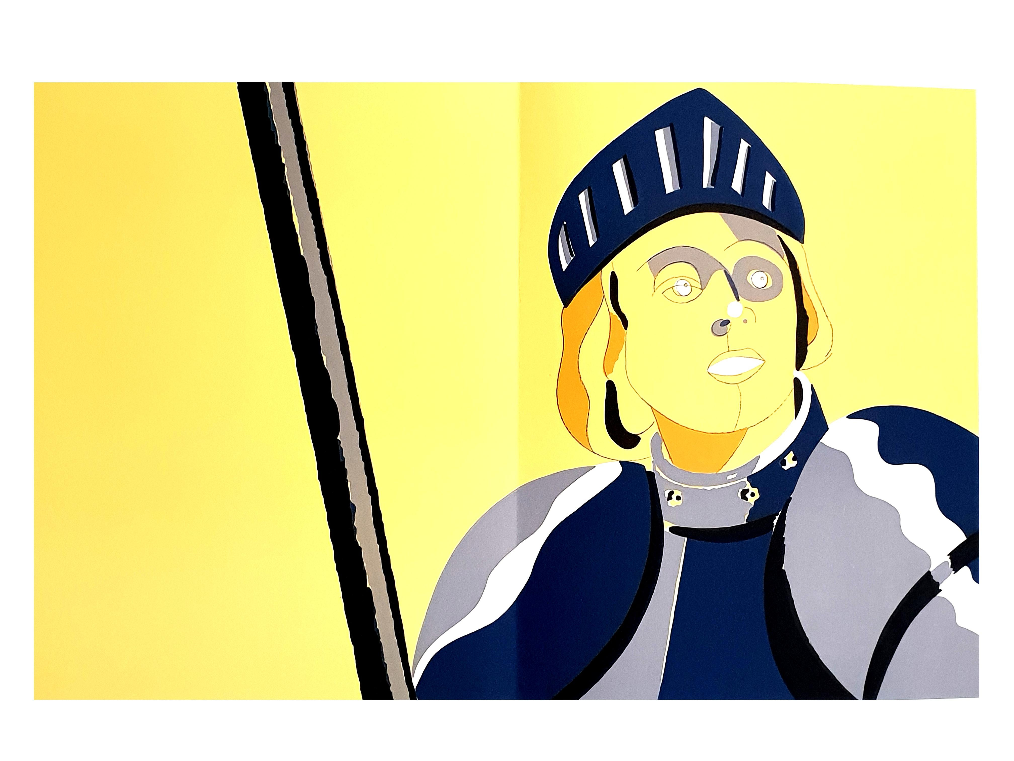Eduardo Arroyo - Jeanne d'Arc - Original Lithograph