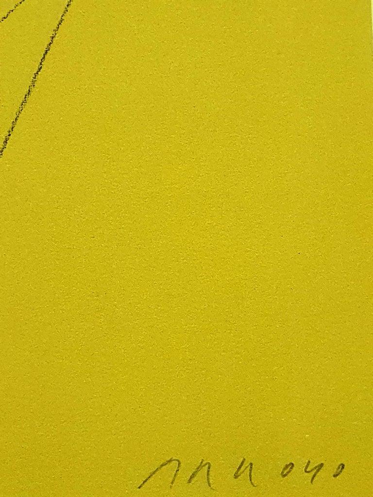 Eduardo Arroyo - Malraux - Original Handsigned Lithograph For Sale 5