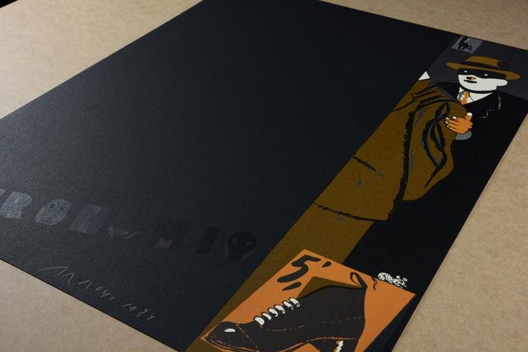 EDUARDO ARROYO: Necronomio - Limited ed. Lithograph on paper. Pop Art Surrealism - Print by Eduardo Arroyo