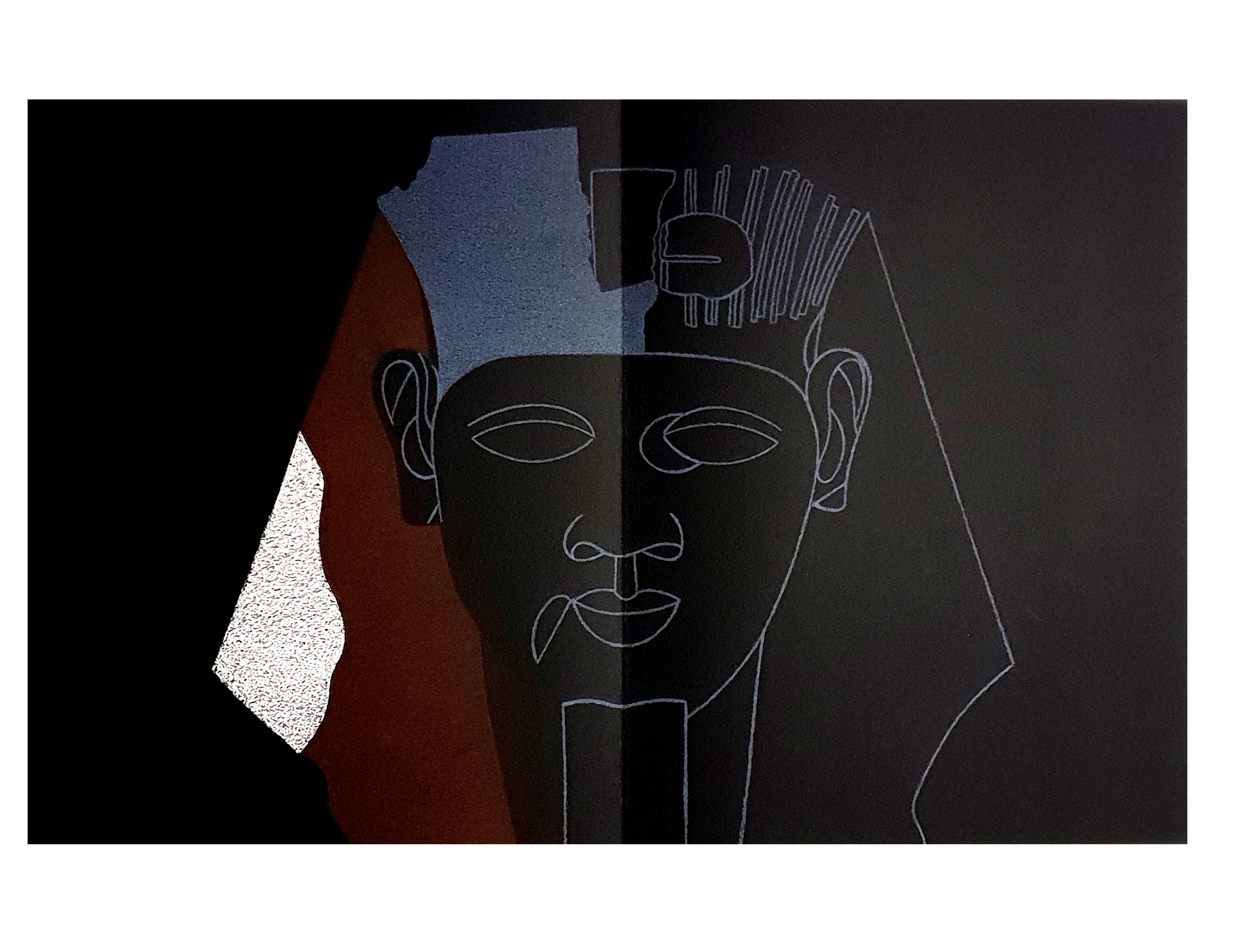 Eduardo Arroyo - Sphinx - Original Lithograph