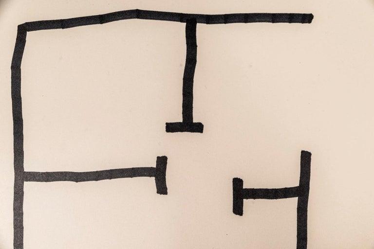 Spanish Eduardo Chillida, Composition 1990, Signed, Spain For Sale
