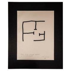 Eduardo Chillida, Composition 1990, Signed, Spain