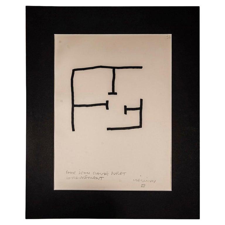 Eduardo Chillida, Composition 1990, Signed, Spain For Sale