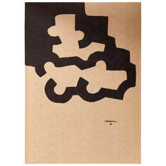 "Eduardo Chillida Lithography ""Untitled"""
