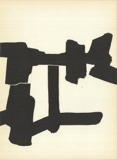 1964 Eduardo Chillida 'DLM no. 143 Page 7' France Lithograph