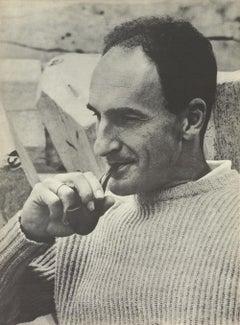 1964 Eduardo Chillida 'Eduardo Chillida' France Offset Lithograph