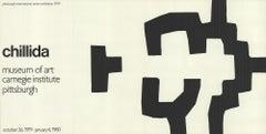 1980 Eduardo Chillida 'Museum of Art Carnegie Institute' Lithograph