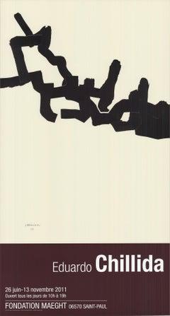 2011 After Eduardo Chillida 'Sans Titre' Abstract France Offset Lithograph