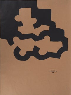 Abstraction in Black - Lithograph