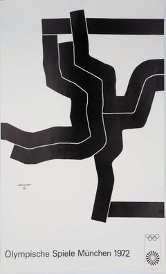 Composition - Lithograph (Olympic Games Munich 1972)