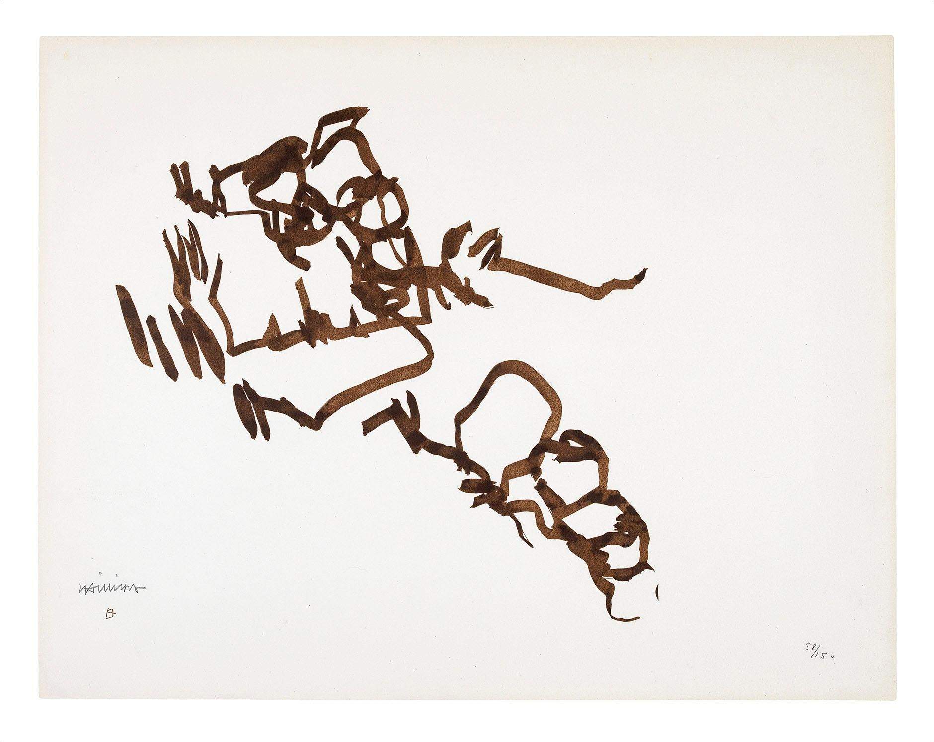 Concordia - Eduardo Chillida, Abstract Art, Contemporary Art, Prints, Lithograph