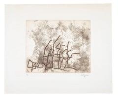 Ecarts - Eduardo Chillida, Etching, Prints, Abstract art, Contemporary Art