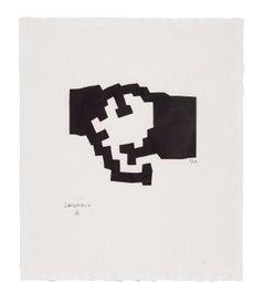 Harvard III - Eduardo Chillida, Abstract Art, Contemporary Art, Prints, Woodcut