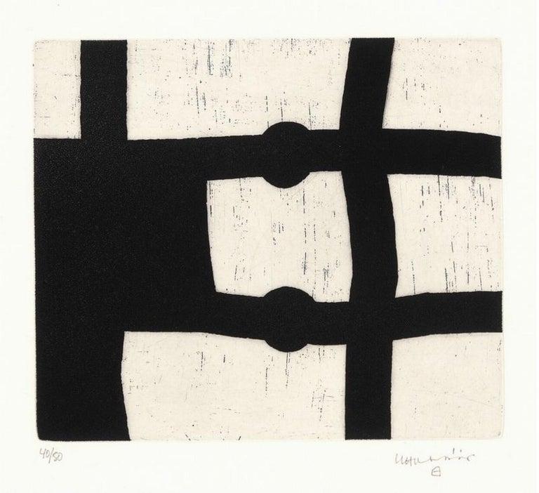 <i>Menturatu</i>, 1991, by Eduardo Chillida, offered by Le Coin des Arts
