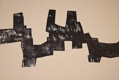 Sakondu - Original Lithograph by Eduardo Chillida - 1968