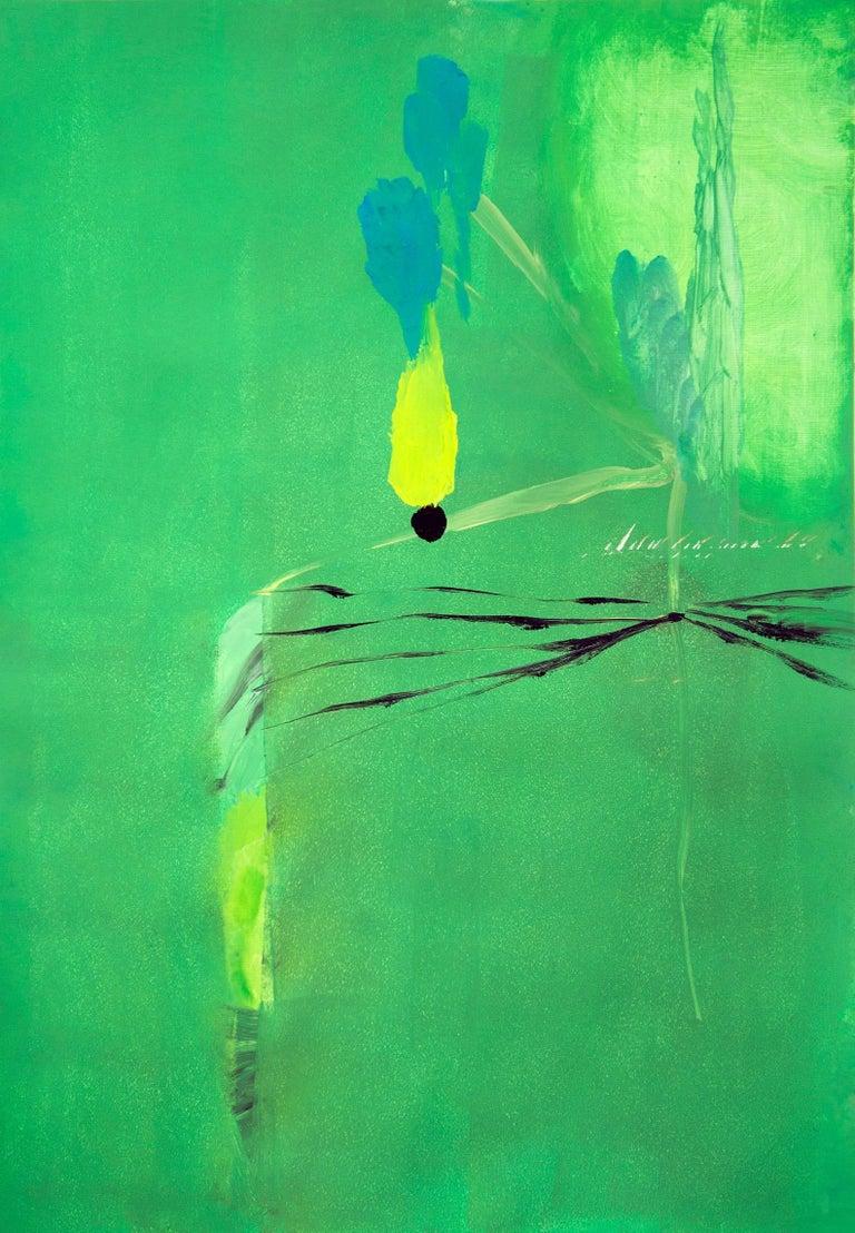Eduardo Infante, Adventure, 2017 - Painting by Eduardo Infante