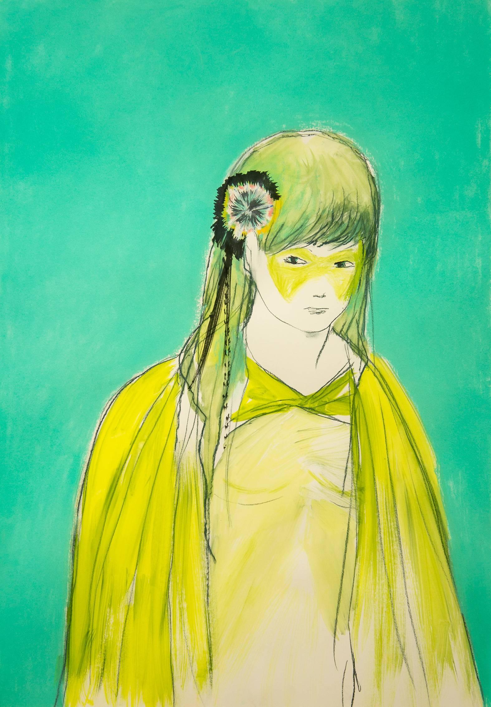 Eduardo Infante, Emerald Heroine, 2017