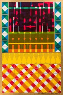 Cover for a Journal -- Print, Pattern, Stripes, Pop Art by Eduardo Paolozzi