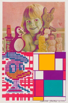 Donald Duck Meets Mondrian -- Print, Patterns, Pop Art by Eduardo Paolozzi
