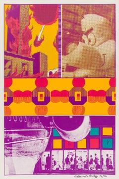 Ernie and T.T. at St Louis Airport -- Print, City, Pop Art by Eduardo Paolozzi