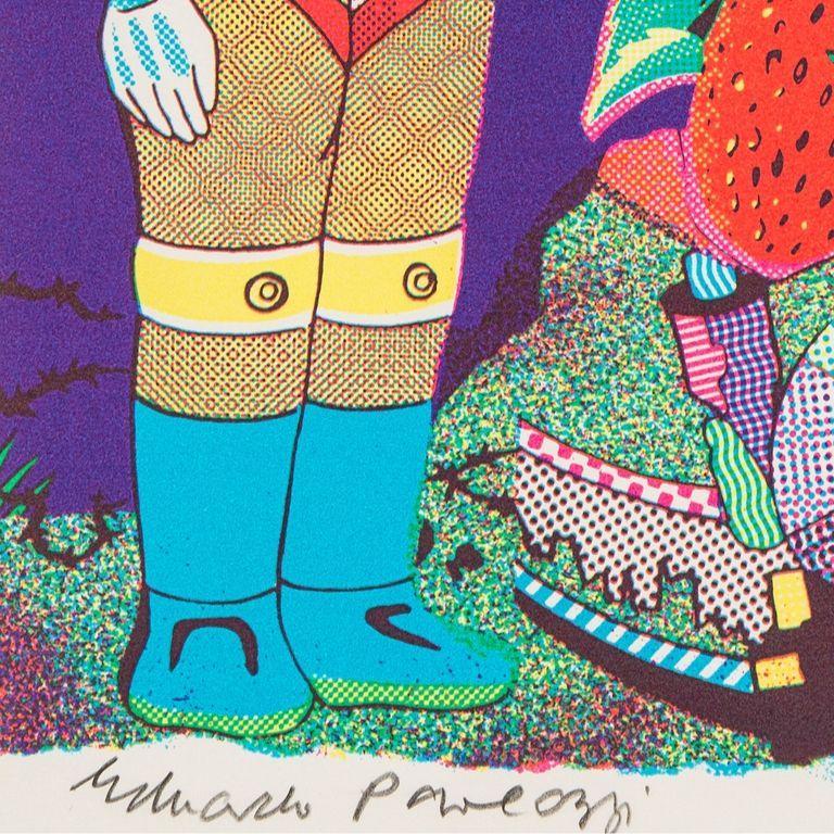 Me -- Screen Print, Portrait, Figurative Art, Pop Art by Eduardo Paolozzi For Sale 1