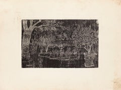 The Garden - Original Etching by Eduardo Paolozzi - 20th Century