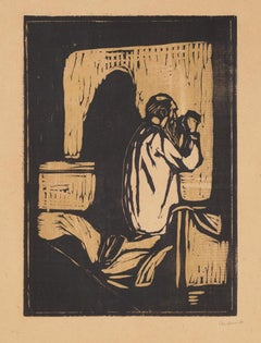 Munch: Old Man Praying (W205)