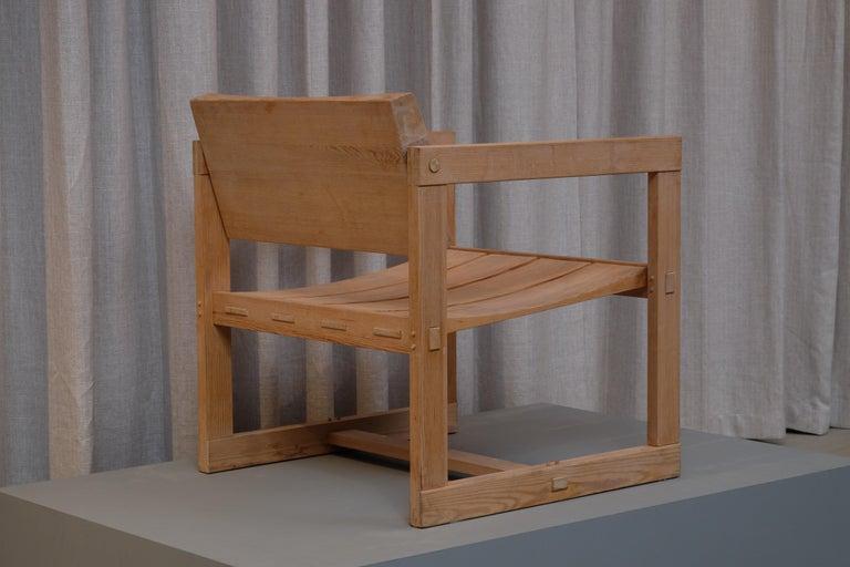 "Scandinavian Modern Edvin Helseth ""Trybo"" Easy Chair by Stange Bruk, Norway, 1960s For Sale"