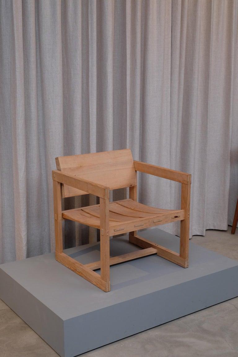 "Norwegian Edvin Helseth ""Trybo"" Easy Chair by Stange Bruk, Norway, 1960s For Sale"