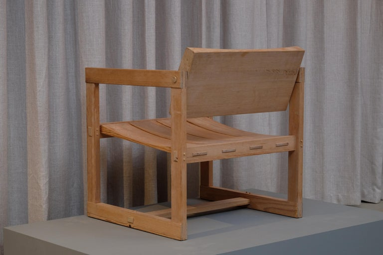 """Mid-20th Century Edvin Helseth """"Trybo"""" Easy Chair by Stange Bruk, Norway, 1960s For Sale"""