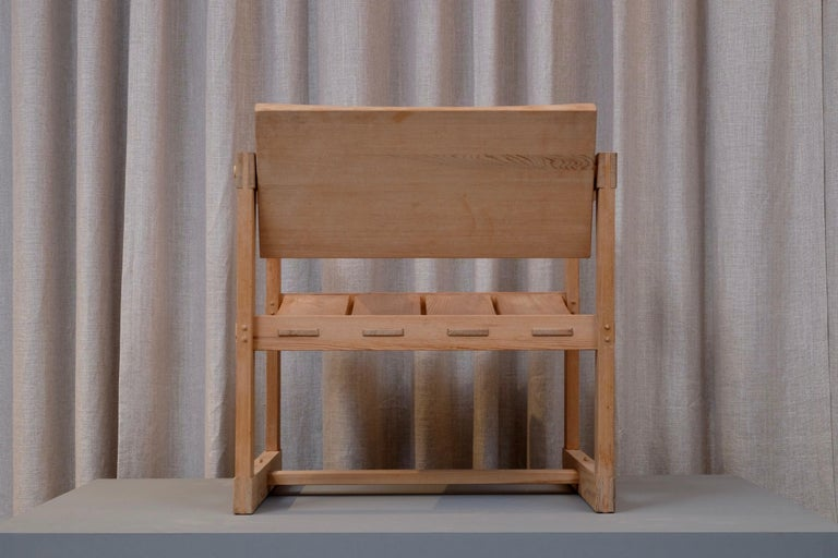 """Edvin Helseth """"Trybo"""" Easy Chair by Stange Bruk, Norway, 1960s For Sale 1"""